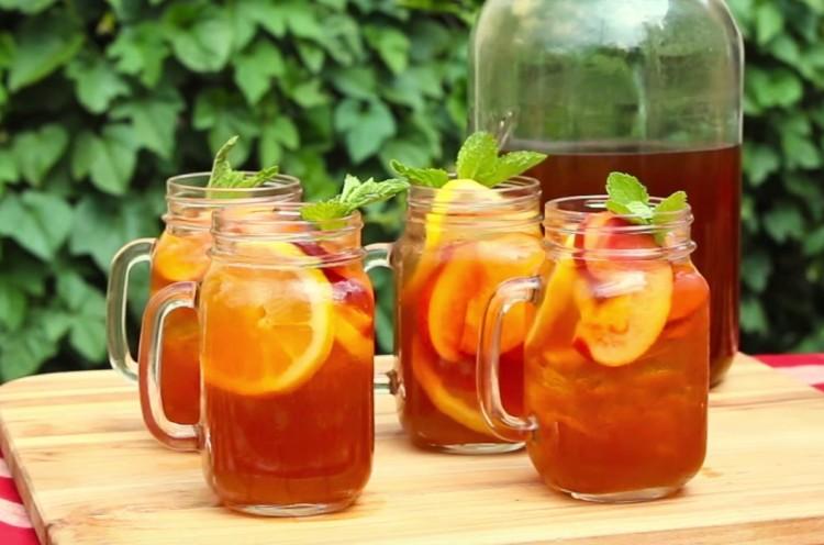 şeftalili buzlu çay tarifi