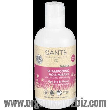 Aile Serisi - Hacim Veren Şampuan - Organik Kurtüzümü ve Karpuz Özlü 200 ml - 44553 - Sante