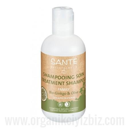 Aile Serisi - Onarıcı Bakım Şampuanı - Organik Gingko ve Zeytin Özlü 200 ml - 42508 - Sante