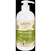 Aile Serisi - Onarıcı Bakım Şampuanı - Organik Gingko ve Zeytin Özlü 500 ml - 42520 - Sante