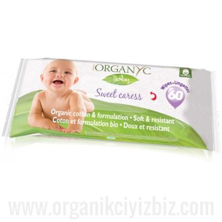 Bebek Islak Mendili 60 Yaprak - GBA01 - Organyc