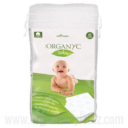 Bebek Temizleme Pedi 60 Adet - GBA03 - Organyc