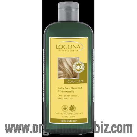 Boya Bakım Şampuanı - Organik Papatya Özlü - Sarı Saçlar İçin 250ml - 32163 - Logona