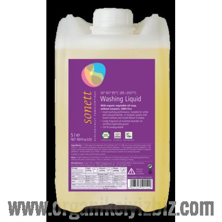 Çamaşır Yıkama Sıvısı 30-95 °C - Lavanta 5lt - B5015 - Sonett