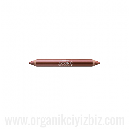 Çift Taraflı Kalem Ruj - Bronz 01 - 02340 - Logona