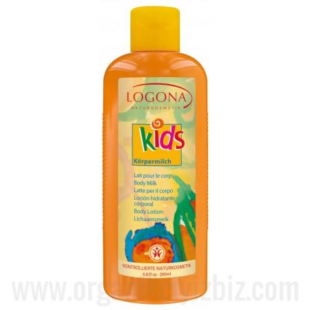 Çocuk Vücut Sütü 200ml - 00147 - Logona