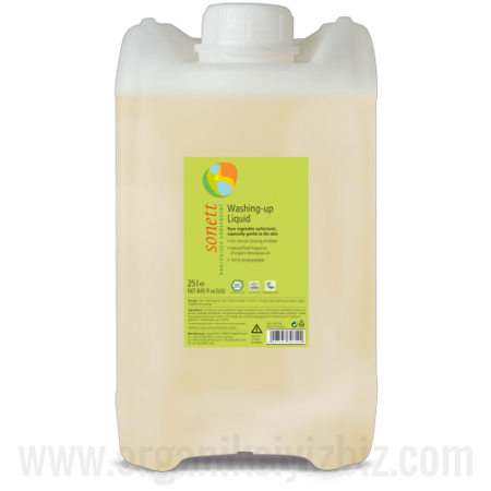 Elde Bulaşık Yıkama Sıvısı - Limonotlu 25 lt - B3075 - Sante