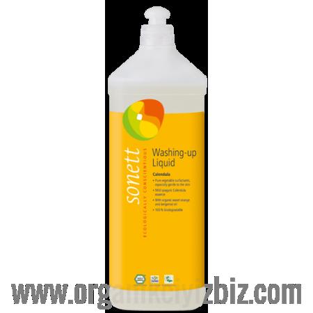 Elde Bulaşık Yıkama Sıvısı - Organik Altıncık Çiçekli 1L - B3065 - Sonett
