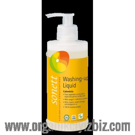 Elde Bulaşık Yıkama Sıvısı - Organik Altıncık Çiçekli 300 ml - B3064 - Sonett