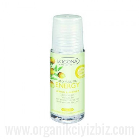 Energy Deo Roll-on Limon & Zencefil 50ml - 00579 - Logona