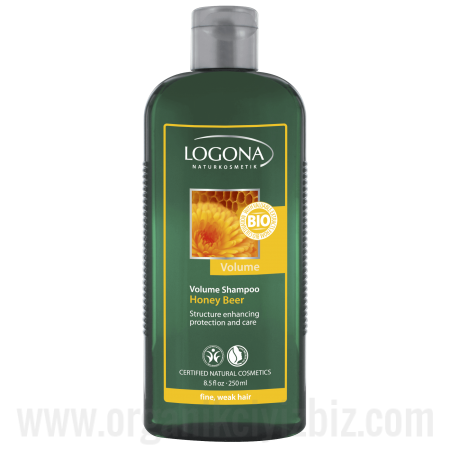 Hacim Kazandıran Şampuan - Organik Ballı Ve Biralı 250ml - 30476 - Logona