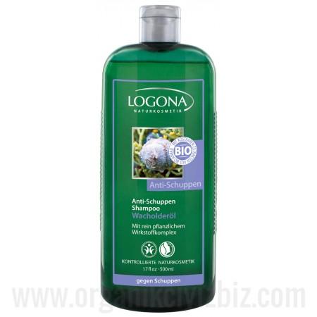 Kepek Önleyici Şampuan - Organik Ardıç Ağacı Yağlı 500ml - 01146 - Logona