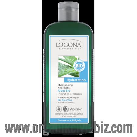 Nemlendirici Şampuan - Aloe Vera Özlü 250ml - 30208 - Logona