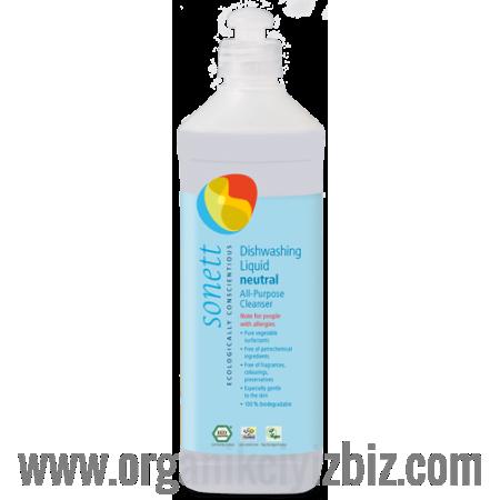 Nötral Bulaşık Ve Çok Amaçlı Yıkama Sıvısı 0,5 L - B3077 - Sonett