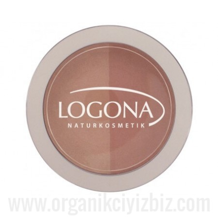 Organik Allık - Bej+ Terracota 03 - 02377 - 10g - Logona