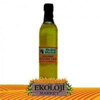 Organik Ayçiçek Yağı Cam Şise 3.10 lt  - Ekoloji Market