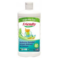 Organik Beslenme Gereçleri Bulaşık Makinesi Jel Deterjan 500ml - FR0133 - Friendly