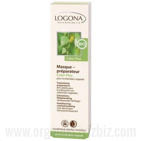 Organik Boyama Öncesi Mineralli Yeşil Killi Saç Bakım Kompleksi 150ml - 00156 - Logona