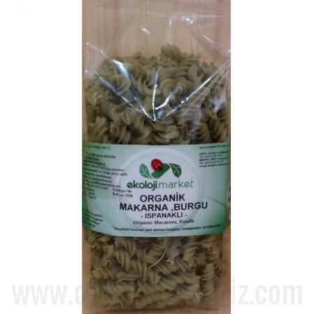 Organik Burgu (Ispanaklı) 350gr - Ekoloji Market