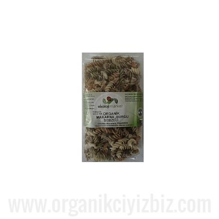 Organik Burgu (Karışık Sebzeli) - Ekoloji Market
