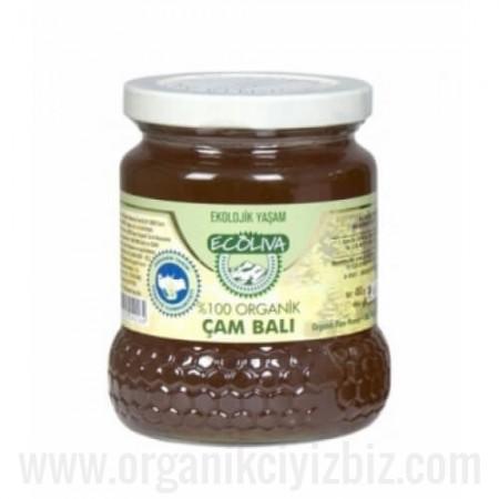 Organik Çam Balı 460gr - Ecoliva