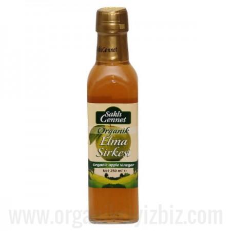 Organik Elma Sirkesi 250 ml - Saklı Cennet