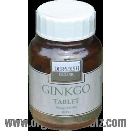 Organik Ginkgo Tablet - Ginkgo Biloba (90 Adet) - Rasayana