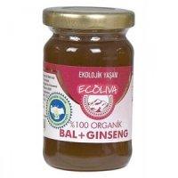 Organik Ginseng + Bal 125gr - Ecoliva
