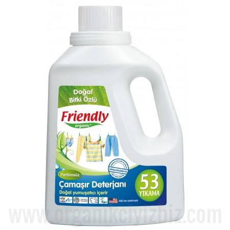 Organik Hassas Ciltler İçin Çamaşır Deterjanı - Kokusuz 739ml - FR0089 - Friendly