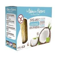 Organik Hindistan Cevizli Kraker/Ekmek - Glutensiz 125gr - Le Pain des Fleurs
