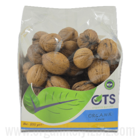 Organik Kabuklu Ceviz (500gr) - OTS