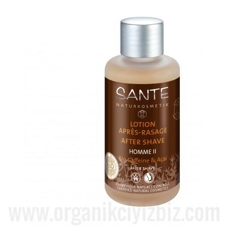 Organik Kafein & Açai Özlü - Tıraş Losyonu 100 ml - 42587 - Sante