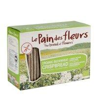 Organik Karabuğdaylı Kraker/Ekmek - Glutensiz 125gr - Le Pain des Fleurs
