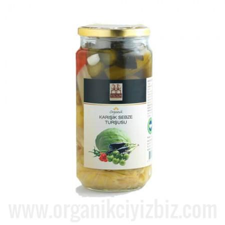 Organik Karışık Sebze Turşusu - Yerlim