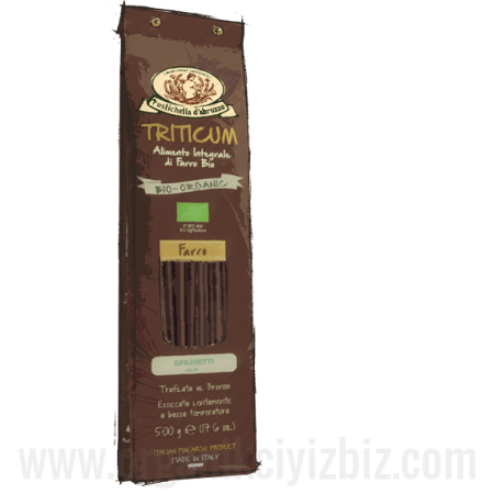 Organik Kavılca Buğdaylı Spagetti 500gr - R00284 - Rustichella D'abruzzo