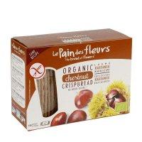 Organik Kestaneli Kraker/Ekmek - Glutensiz 125gr - Le Pain des Fleurs