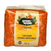 Organik Kırmızı Mercimek 500gr - Green Apple