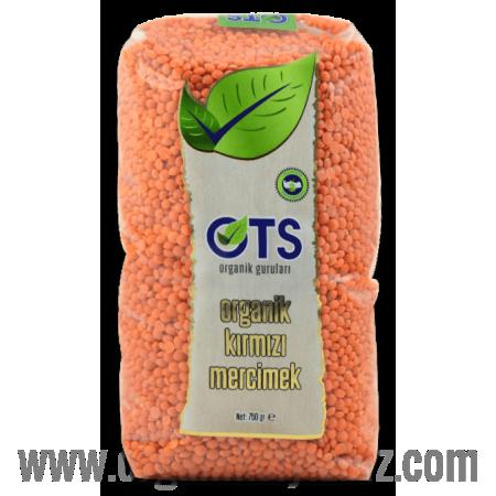 Organik Kırmızı Mercimek (750gr) - OTS