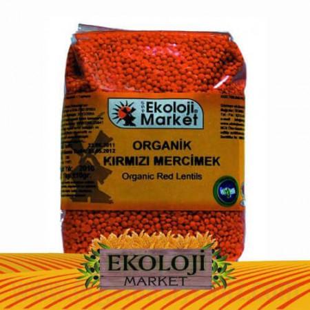 Organik Kırmızı Mercimek - Ekoloji Market