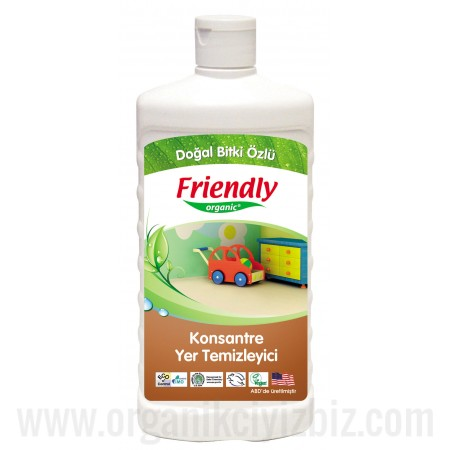 Organik Konsantre Yer Temizleyici 500ml - FR0270 - Friendly