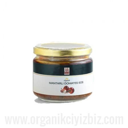Organik Mantarlı Domates Sos 250gr - Yerlim
