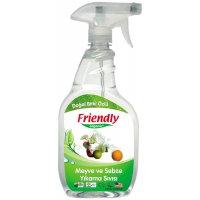 Organik Meyve ve Sebze Yıkama Sıvısı 650ml - FR0263 - Friendly