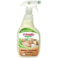 Organik Mobilya Temizleme Ve Parlatıcı 650ml - FR0188 - Friendly