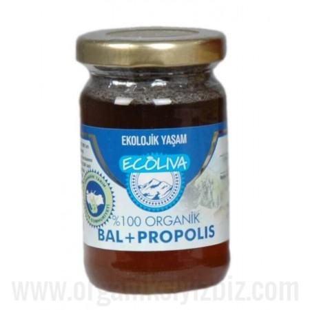 Organik Propolis + Bal 125gr - Ecoliva