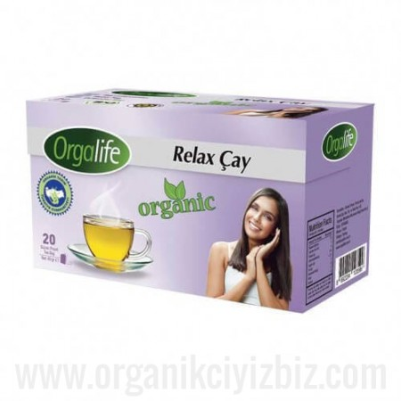 Organik Relax Bitki Çay 20'li - Karali Çay