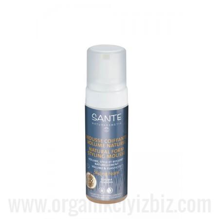 Organik Saç Şekillendirici Doğal Köpük 150 ml - 42814 - Sante