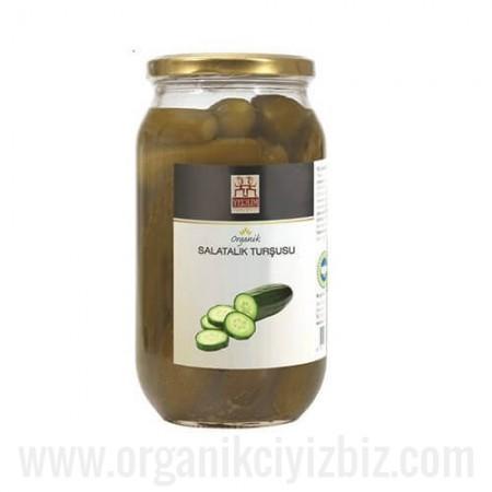 Organik Salatalık Turşusu 900gr - Yerlim