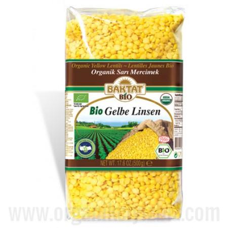 Organik Sarı Mercimek - Baktat