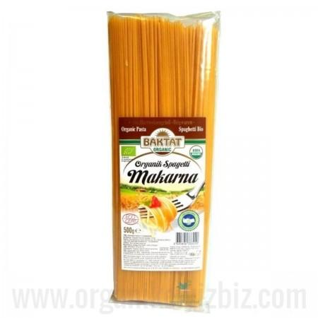 Organik Spagetti Makarna 500gr - Baktat