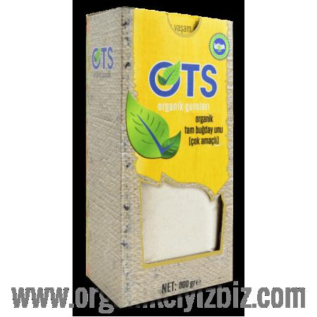 Organik Tam Buğday Unu Çok Amaçlı (500gr) - OTS
